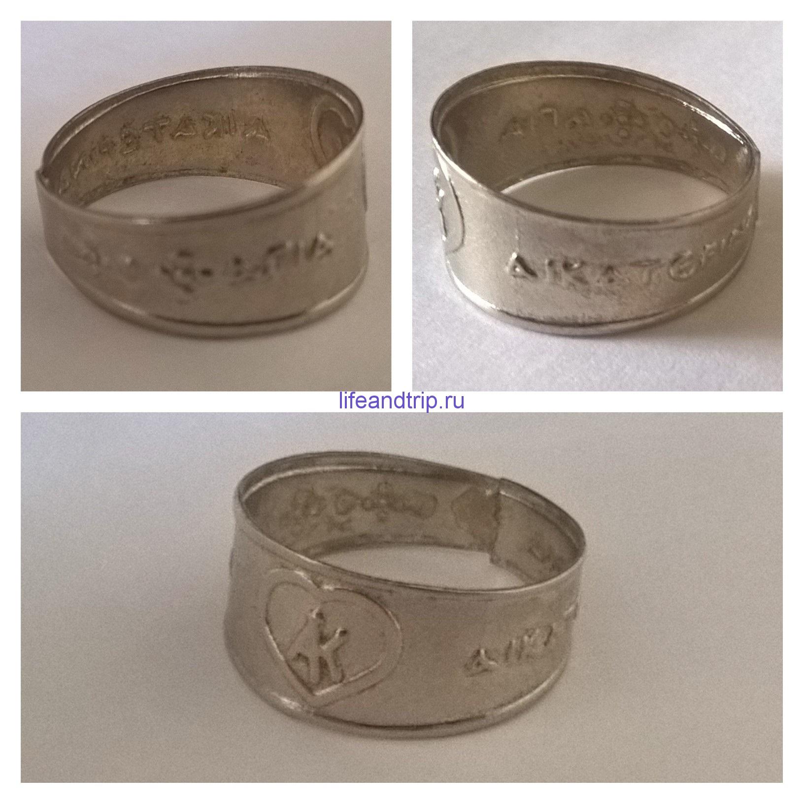 кольцо екатерина