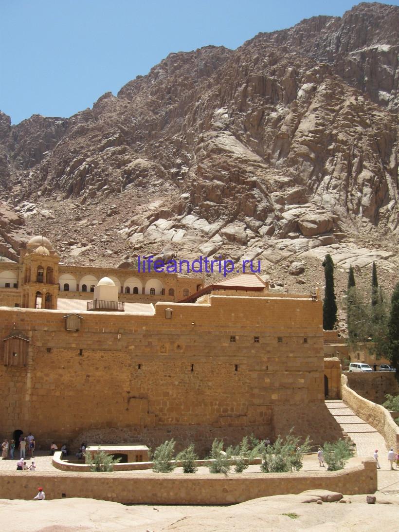 Египет, Монастырь святой Екатерины