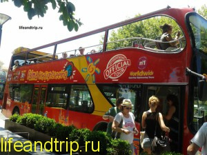 экскурсионный автобус на Майорке
