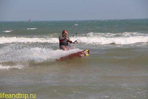 кайтсёрфинг в Муйне во Вьетнаме